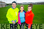 John Higgins, Jacqueline Higgins and Barbara Higgins  at the Kerins O'Rahilly's '1916' 10k Run on Sunday
