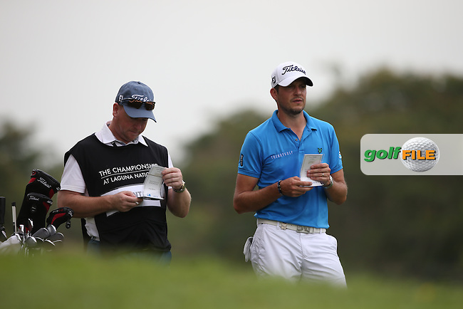 Simon Thornton (IRL) broke even during Round One of the The Championship 2014 from the Laguna National Golf & Country Club, Tampines, Singapore. Picture:  David Lloyd / www.golffile.ie