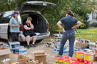 Migrant workers post hurricane Florence in Snow Hill, North Carolina Sunday, September 23, 2018. (Justin Cook)
