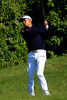Phachara Khongwatmai (THA) in action during the final round of the Lyoness Open powered by Organic+ played at Diamond Country Club, Atzenbrugg, Austria. 8-11 June 2017.<br /> 11/06/2017.<br /> Picture: Golffile | Phil Inglis<br /> <br /> <br /> All photo usage must carry mandatory copyright credit (&copy; Golffile | Phil Inglis)
