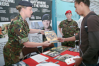 Careers Fair, University of Surrey.