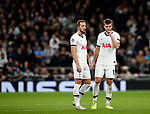 Tottenham's Harry Kane and Eric Dier during the UEFA Champions League match at the Tottenham Hotspur Stadium, London. Picture date: 26th November 2019. Picture credit should read: David Klein/Sportimage