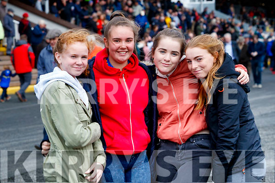 Kerrie Houlihan, Emily McCarthy, Orla Mahony, Nicola Collins, all from Listowel, enjoying a fun day at Listowel Races on Sunday last.