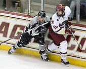 Eric Baier (Providence - 7), Jimmy Hayes (BC - 10) - The Boston College Eagles defeated the Providence College Friars 4-1 on Tuesday, January 12, 2010, at Conte Forum in Chestnut Hill, Massachusetts.