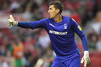 Nottingham Forest's Costel Pantilimon<br /> <br /> Photographer Mick Walker/CameraSport<br /> <br /> The EFL Sky Bet Championship - Nottingham Forest v West Bromwich Albion - Tuesday August 7th 2018 - The City Ground - Nottingham<br /> <br /> World Copyright &copy; 2018 CameraSport. All rights reserved. 43 Linden Ave. Countesthorpe. Leicester. England. LE8 5PG - Tel: +44 (0) 116 277 4147 - admin@camerasport.com - www.camerasport.com
