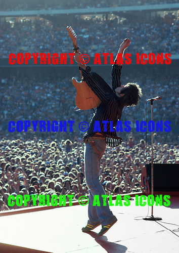 Keith Richards, Day-on-the-Green, Oakland Coliseum, July 1978<br /> Photo Credit: Baron Wolman\AtlasIcons.com