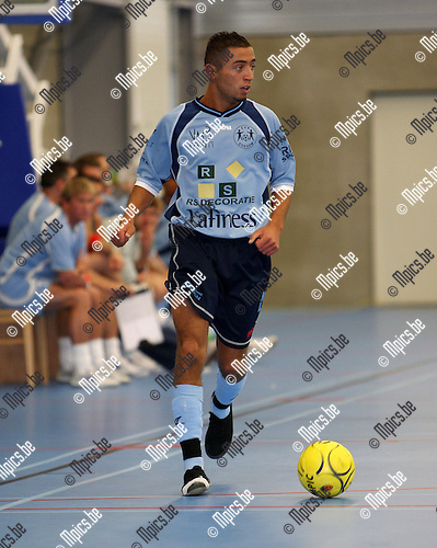 2007-08-16 / Futsal / Edegem / Ahmed Ajouaou