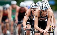 15 AUG 2009 - LONDON, GBR - Steffen Justus - ITU World Championship Series Mens Triathlon (PHOTO (C) NIGEL FARROW)
