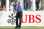 Scott Hend of Australia tees off the first hole during the 58th UBS Hong Kong Golf Open as part of the European Tour on 10 December 2016, at the Hong Kong Golf Club, Fanling, Hong Kong, China. Photo by Marcio Rodrigo Machado / Power Sport Images