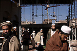 worshippers at the mosque at the daral-ulloom madrassa sarhad, in peshawar