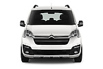 Car photography straight front view of a 2016 Citroen BERLINGO-MULTISPACE XTR+ 5 Door Mini MPV Front View