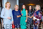 Supporting the Ballmac GAA Fundraiser at the Rose Hotel on Sunday. L-r, Catherine Leahy, Ita O'Brien, Michelle Broderick, Denise O'Mahoney and Ann Savage.