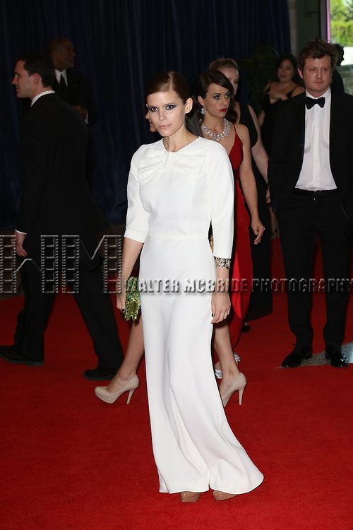Kate Mara  attending the  2013 White House Correspondents' Association Dinner at the Washington Hilton Hotel in Washington, DC on 4/27/2013