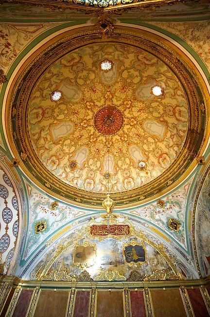 The Imperial Council (Dîvân-ı Hümâyûn) building where the ruling councillors held meetings. Topkapi Palace, Istanbul, Turkey
