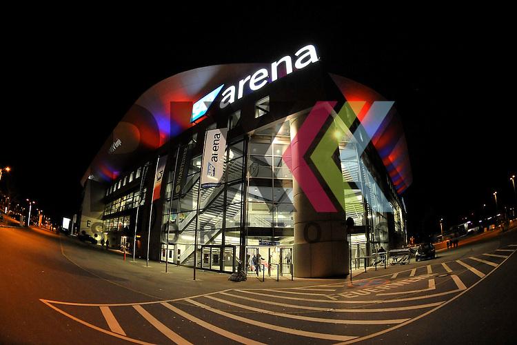 Die SAP Arena nach dem Spiel in der DEL, Adler Mannheim - Grizzly Adams Wolfsburg.<br /> <br /> Foto &copy; Ice-Hockey-Picture-24 *** Foto ist honorarpflichtig! *** Auf Anfrage in hoeherer Qualitaet/Aufloesung. Belegexemplar erbeten. Veroeffentlichung ausschliesslich fuer journalistisch-publizistische Zwecke. For editorial use only.