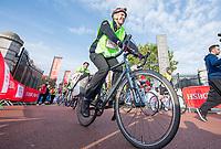 Picture by Allan McKenzie/SWpix.com - 24/09/2017 - Cycling - HSBC UK City Ride Liverpool - Albert Dock, Liverpool, England - HSBC UK, branding.