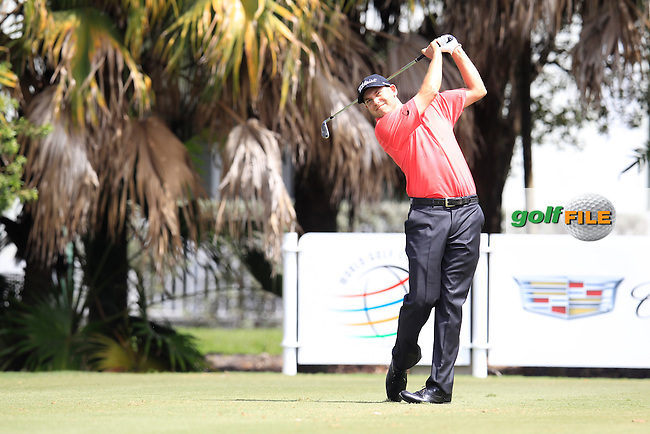 Bill Haas (USA) during the 1st round at the WGC Cadillac Championship, Blue Monster, Trump National Doral, Doral, Florida, USA<br /> Picture: Fran Caffrey / Golffile