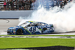 Monster Energy NASCAR Cup Series driver Jimmie Johnson (48) in action during the NASCAR O'Reilly Auto Parts 500 race at Texas Motor Speedway in Fort Worth,Texas.
