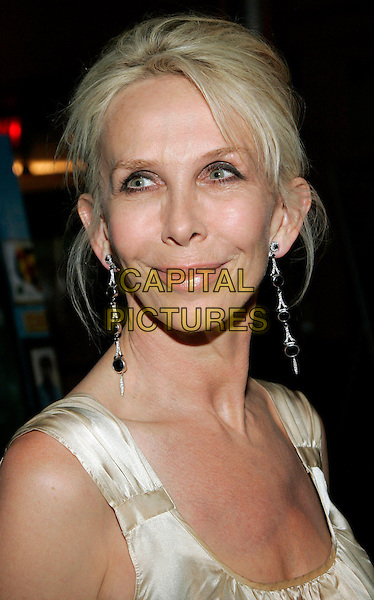 "TRUDIE STYLER.The NY Premiere of ""Half Nelson"", New York, NY, USA..August 2nd, 2006.Ref: ADM/JL.headshot portrait earrings.www.capitalpictures.com.sales@capitalpictures.com.©Jackson Lee/AdMedia/Capital Pictures."
