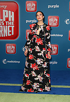 HOLLYWOOD, CA - NOVEMBER 5: Mandy Moore, at Premiere Of Disney's &quot;Ralph Breaks The Internet&quot; at The El Capitan Theatre in Hollywood, California on November 5, 2018. <br /> CAP/MPI/FS<br /> &copy;FS/MPI/Capital Pictures