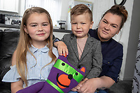 "Pictured: Jaydee-Lee Dummett with brother Laylan and mum Lindy Burke.<br /> Re: A quick thinking seven-year old has saved the lives of her family after putting her gas safety knowledge to good use and spotting the deathly signs of carbon monoxide poisoning.<br /> Fochriw Primary's Jaydee-Lee Dummett reeled off the gas emergency telephone number to her panicked mother, Lindy, after her brother woke in the middle of the night disorientated and seeing things. It was Jaydee-Lee who then quickly spotted the carbon monoxide detector alarm had turned from its usual green colour to red and instructed her mum to ring for help immediately.<br /> Jaydee-Lee's mum, Lindy Burke, explains:<br /> ""A few weeks previous Jaydee-Lee had come home from school full of beans after being visited by the team from Wales & West Utilities who delivered a gas safety session. Looking back, without this lesson I genuinely don't think we'd still be alive.<br /> ""After seeing her brother so confused, Jaydee-Lee quickly looked for other tell-tale signs of carbon monoxide poisoning and then, like it was second nature, she reeled off the gas emergency number – 0800 111 999 – I couldn't believe it!""<br /> Engineers from Wales & West Utilities quickly attended the family home and turned off the gas supply and made it safe, whilst Jaydee-Lee made a further impression on the engineers with her knowledge.<br /> Sean Ward, a Wales & West Utilities emergency engineer, attended the family home and said""The quick-thinking actions of Jaydee-Lee have saved her family's lives and she should be commended. From speaking to her that night it was clear that she took in such a lot of vital information from the gas safety session which is fantastic!<br /> ""Every year we make approximately 4,000 visits to properties where we find evidence of carbon monoxide.  It's important for people to realise that this is a poisonous gas that doesn't smell, has no taste and can't be seen - but it kills 50 people in the UK every year and leaves a fu"