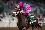 ARCADIA, CA - MARCH 10: City of Light #4, ridden by Drayden Van Dyke wins the Triple Bend Stakes at Santa Anita Park on March 10, 2018 in Arcadia, California. (Photo by Alex Evers/Eclipse Sportswire/Getty Images)