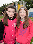 Leah McVeigh and Dearbhla Keenan pictured at St Mary's GFC family fun day. Photo:Colin Bell/pressphotos.ie