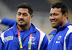 ENG - Newcastle upon Tyne, England, October 08: During the Captains Run of Samoa on October 8, 2015 at St. James Park in Newcastle upon Tyne, England. (Photo by Dirk Markgraf / www.265-images.com) *** Local caption ***