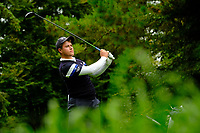 Charlie Denver (Leinster) during final day foursomes at the Interprovincial Championship 2018, Athenry golf club, Galway, Ireland. 31/08/2018.<br /> Picture Fran Caffrey / Golffile.ie<br /> <br /> All photo usage must carry mandatory copyright credit (© Golffile | Fran Caffrey)