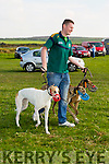 Kieran Houlihan, Ballyduff at the Ballyheigue Coursing on Sunday