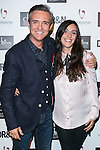 "Ramoncin and his daughter attends the presentation of the new fashion collection of ""Do Rego & Novoa"" in Madrid, Spain. September 10, 2014. (ALTERPHOTOS/Carlos Dafonte)"