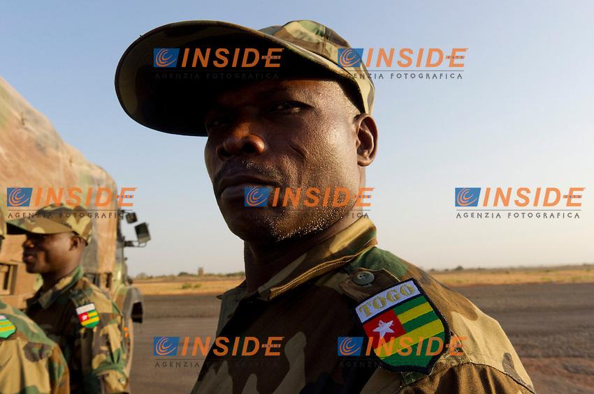 Arrivo di forze militari francesi e straniere a Bamako.Mali 18/1/2013 .Foto ecpad/EMA / Panoramic / Insidefoto .ITALY ONLY .Operazione SERVAL. Intervento Francia in MALI