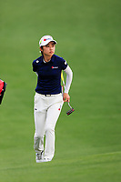 Yuka Yasuda (JPN) during the final  round at the Augusta National Womans Amateur 2019, Augusta National, Augusta, Georgia, USA. 06/04/2019.<br /> Picture Fran Caffrey / Golffile.ie<br /> <br /> All photo usage must carry mandatory copyright credit (&copy; Golffile | Fran Caffrey)