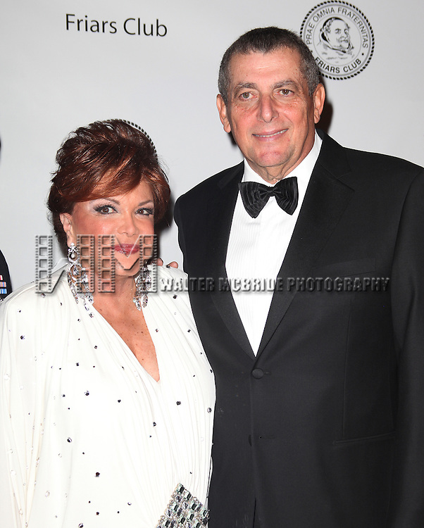 Connie Francis & Leonard A. Wilf.attending the 2011 Friars Foundation Applause Award Gala in New York City.