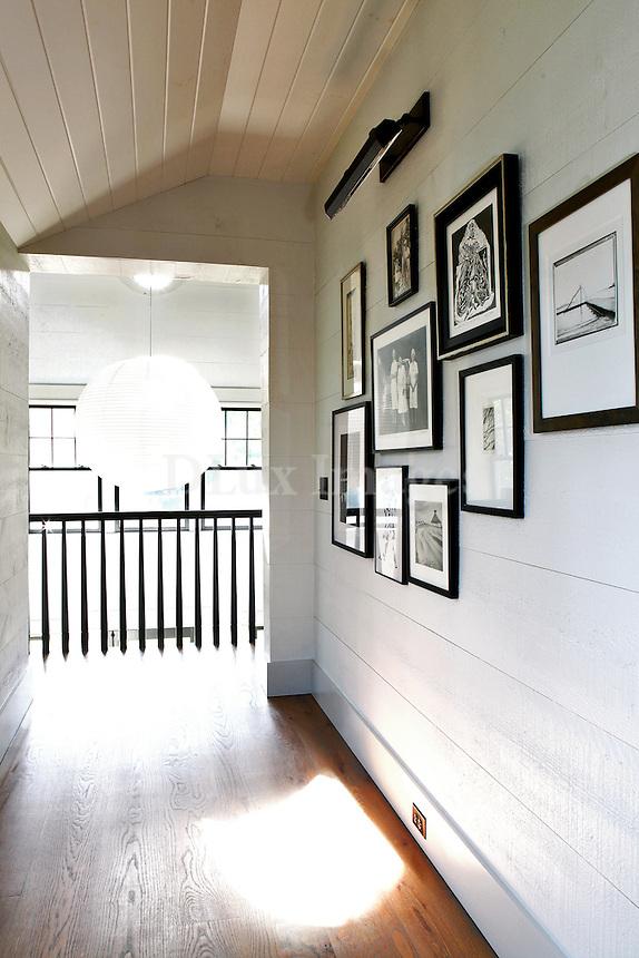 bright white hallway