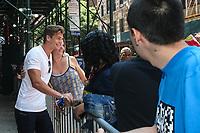 NEW YORK, EUA, 10.07.2017 - MITCHEL-SLAGGERT - Mitchell Slaggert é visto no bairro do Soho na cidade de New York nesta segunda-feira, 10. (Foto: Vanessa Carvalho/Brazil Photo Press/Folhapress)
