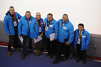 SPEED SKATING: CALGARY: Olympic Oval, 08-03-2015, ISU World Championships Allround, ISU jury/referees, ©foto Martin de Jong