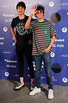 "Directors Javier Calvo (i) and Javi Ambrossi ""LOS JAVIS"" attend the photocall of Aitana´s concert. July 31, 2019. (ALTERPHOTOS/Johana Hernandez)"