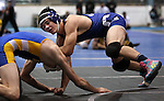 Carson's Brady O'Keefe defeats Alex Parvin of Wood at the Sierra Nevada Classic wrestling tournament in Reno, Nev., on Friday, Dec. 28, 2012.  .Photo by Cathleen Allison