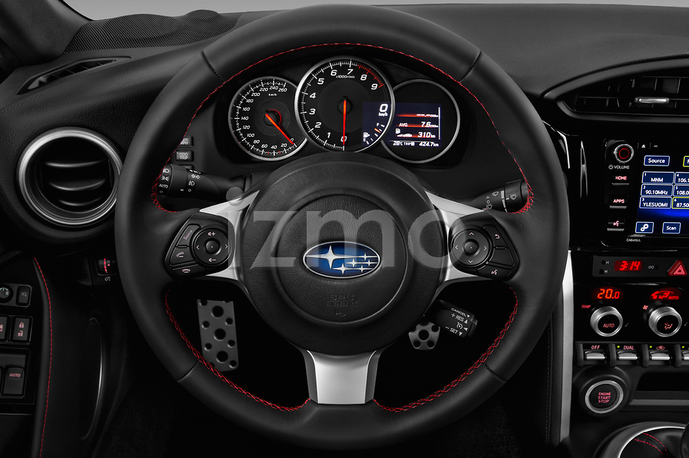 Car pictures of steering wheel view of a 2017 Subaru BRZ Sport Premium 2 Door Coupe