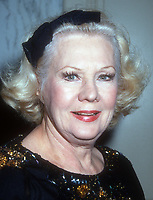 Virginia Mayo, 1991, Photo By Michael Ferguson/PHOTOlink