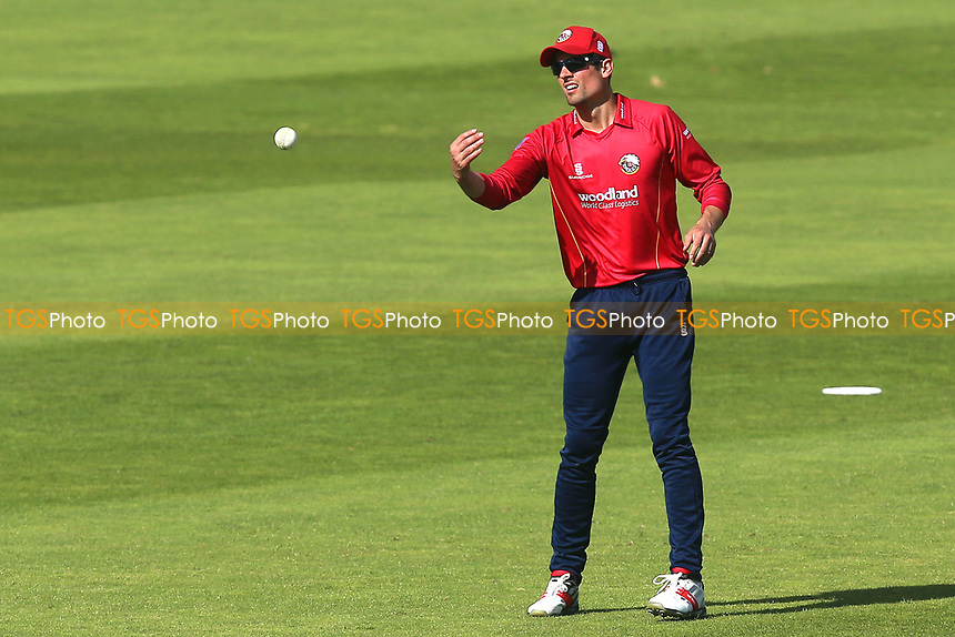 Alastair Cook of Essex during Somerset vs Essex Eagles, Royal London One-Day Cup Cricket at The Cooper Associates County Ground on 14th May 2017