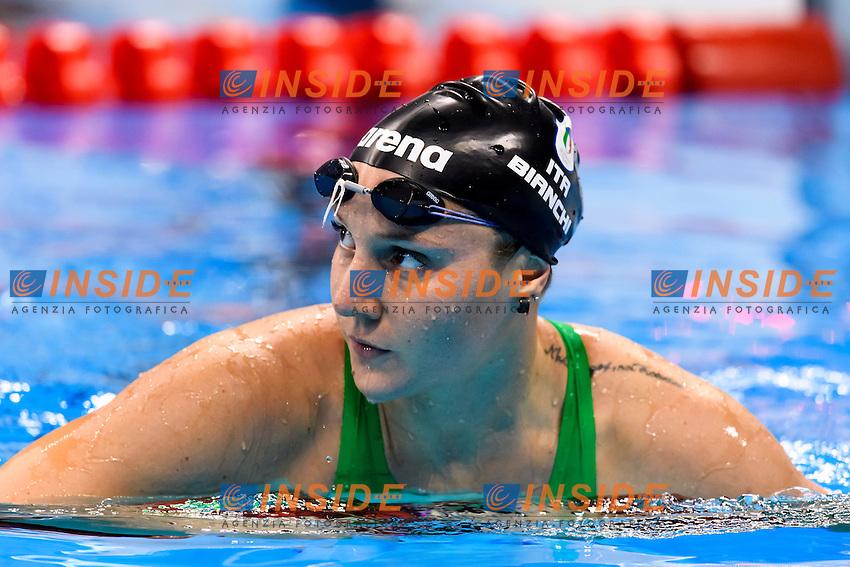 BIANCHI Ilaria ITA <br /> Women's 100m Butterfly <br /> Rio de Janeiro 06-08-2016 Olympic Aquatics Stadium <br /> Swimming Nuoto <br /> Foto Andrea Staccioli/Deepbluemedia/Insidefoto