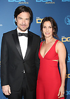 LOS ANGELES, CA - FEBRUARY 2: Jason Bateman and Amanda Anka at the 71st Annual DGA Awards at the Hollywood & Highland Center's Ray Dolby Ballroom  in Los Angeles, California on February 2, 2019. <br /> CAP/MPIFS<br /> ©MPIFS/Capital Pictures