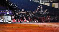 Partner Pferd 2011 - Pferdemesse - Mega Event des Pferdesports auf Neuer Messe Leipzig - 4 Weltcup Entscheidungen - im Bild: Abend Gala - Lange Nacht der Pferde - Impressionen der Show rund ums Pferd - -- Quadrille. Foto: Norman Rembarz..Jegliche kommerzielle Nutzung ist honorar- und mehrwertsteuerpflichtig! Persönlichkeitsrechte sind zu wahren. Es wird keine Haftung übernommen bei Verletzung von Rechten Dritter. Autoren-Nennung gem. §13 UrhGes. wird verlangt. Weitergabe an Dritte nur nach  vorheriger Absprache..