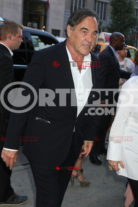 June 27, 2012 Oliver Stone at the special screening of Universal Pictures' Savages at the SVA Theater in New York City. &copy; RW/MediaPunch Inc /*NORTEPHOTO.COM*<br />