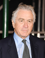 """HOLLYWOOD, CA - OCTOBER 24: Robert De Niro attends the premiere of Netflix's """"The Irishman"""" at TCL Chinese Theatre on October 24, 2019 in Hollywood, California.<br /> CAP/ROT/TM<br /> ©TM/ROT/Capital Pictures"""