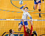 University of South Dakota at South Dakota State University Volleyball
