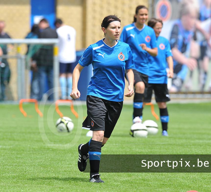 eerste training Club Brugge Dames : Lies Van Hamme.foto DAVID CATRY / Vrouwenteam.be