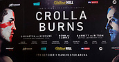 6th October 2017, Radisson Edwardian Hotel,  Manchester, England; Anthony Crolla versus Ricky Burns Weigh-in and Press Conference;  Crolla versus Burns fight night promotion